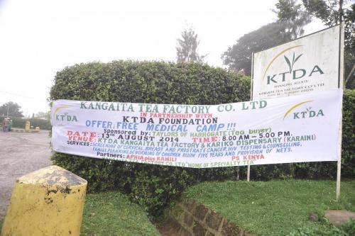 Kangaita Tea Factory Medical Camp - Kariko Dispensary